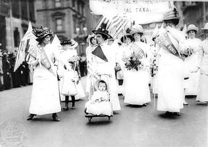 Feminist Suffrage Parade in New York City, 1912
