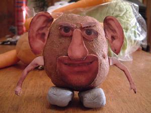 29/11/2007 (Day 364) - Kaptain Potato Head